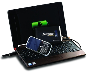 Get more battery time for your netbook with the ENERGIZER® ENERGI TO GO® XP8000 NETBOOK POWER PACK for only $199