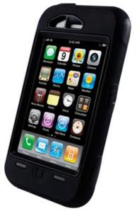 iPhone Otterbox Black