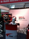 Mr Mobile stand at Australian Motorcycle Expo