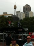 Stunt Riders at Australian Motorcycle Expo