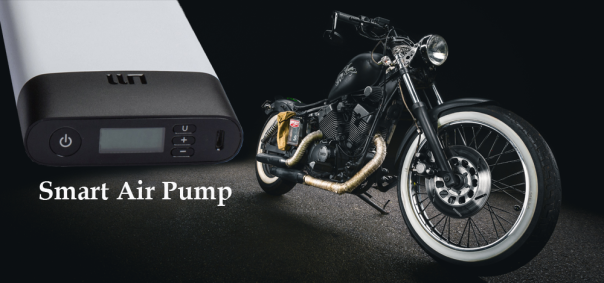 Smart Air Pump for all Motorcycle